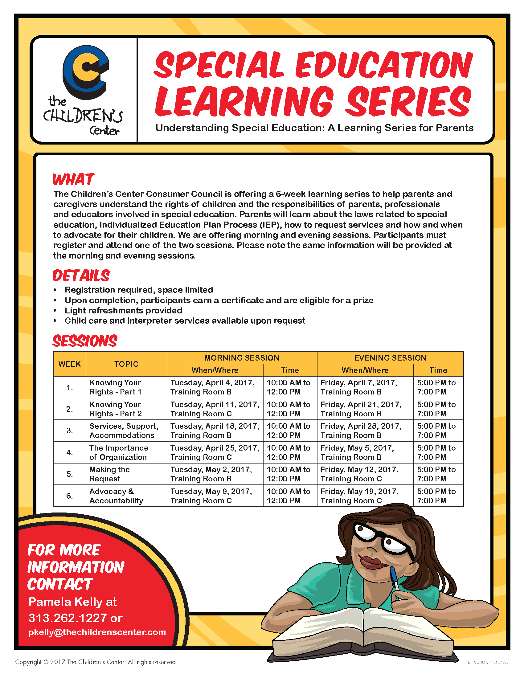 Special Education Accommodations >> Special Education Learning Series Services Support